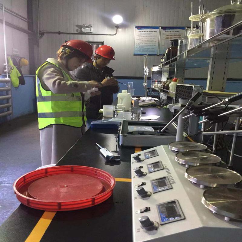 拉萨某环保厂反渗透阻垢剂使用现场